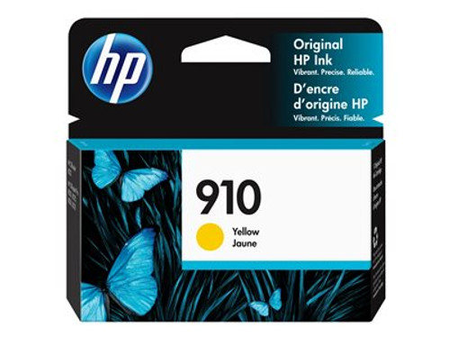 HP 910 - Yellow - original - ink cartridge - for Officejet 80XX; Officejet Pro 80XX - 3YL60AN#140