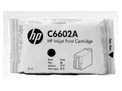 HP  Genuine Reduced Height Black Crtg SPS C6602A