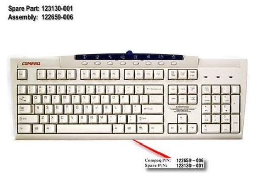 CPQ EASY ACCESS KYBRD PS2 - 123130-001