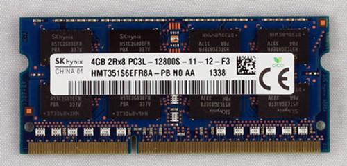HP 4GB, 1600MHz, PC3L-12800 DDR3L DIMM memory - 691740-001