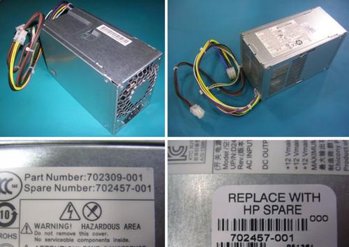 hp 240W POWER SUPPLY - 702457-001