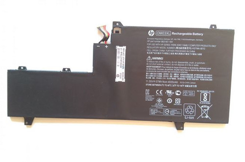 HP Battery (Primary) - 3-cell lithium-ion (Li-Ion), 4.93Ah, 57Wh (OM03057XL-PL)  - 863280-855