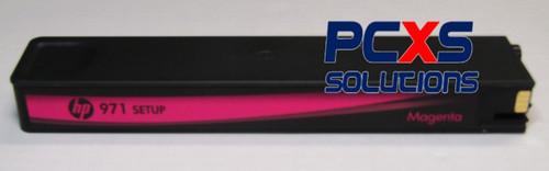HP 971 SETUP MAGENTA OFFICEJET PRO X INK CARTRIDGE - CN623S