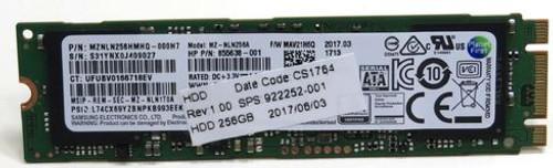 HP 256GB solid-state drive (SSD) - M.2 SATA - 922252-001