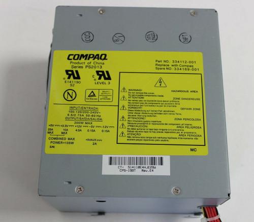 HP 200w Power Supply - 334169-001