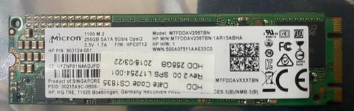 HP SPS-SSD 256GB 2280.M2 SATA-3 OP2 TLC - L17254-001