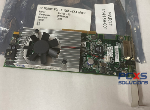 HP NC510C PCIE 10 GIGABIT ADAPTER - 414159-001