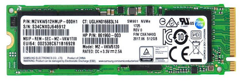 HP 512GB SSD SM961 - 861960-003