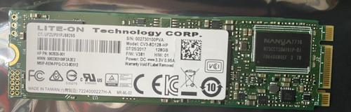 HP Hard Drive - SSD, CV3, 128GB TLC, M.2 22 - 903935-001