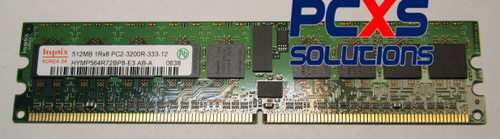 512MB PC2-3200 ECC Memory DIMM - HYMP564R72BP8-E