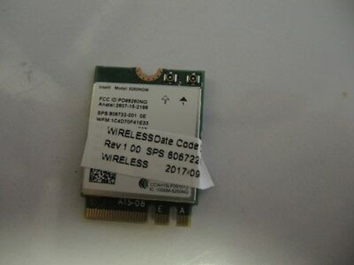 HP SPS-WLAN 11AC 2X2 INT 8260NGW SNFP2NV  - 806722-002