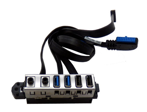 HP Front I/O cable assembly - Supports four USB (2USB2.0 + 2USB3.0) ports, two audio jacks, and power on/off switch PRODESK 600 G2 - 804290-001