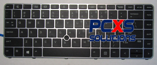 SPS-KYBD BL W/PT STK 14-US - 836308-001