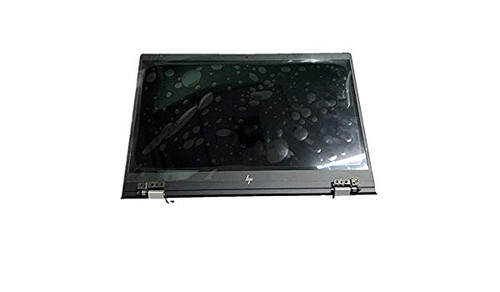 HP HU, Natural Silver, LCD 13.3 FHD BV NON-TS - Whole hinge-up - 928482-001