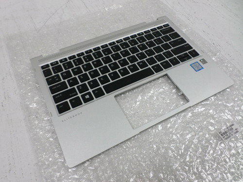 HP SPS-TOP COVER W/KYBD BL PVCY-US Elitebook X360  - L02471-001