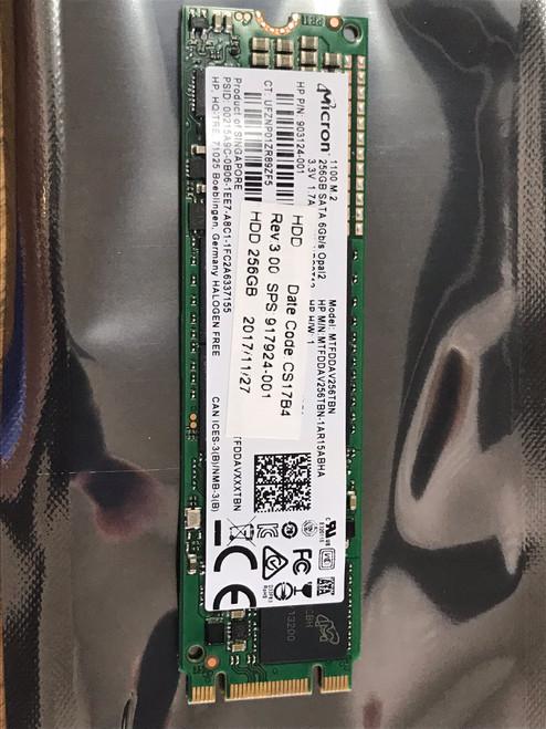 HP 256GB solid-state drive (SSD) - M.2 SATA - 917924-001