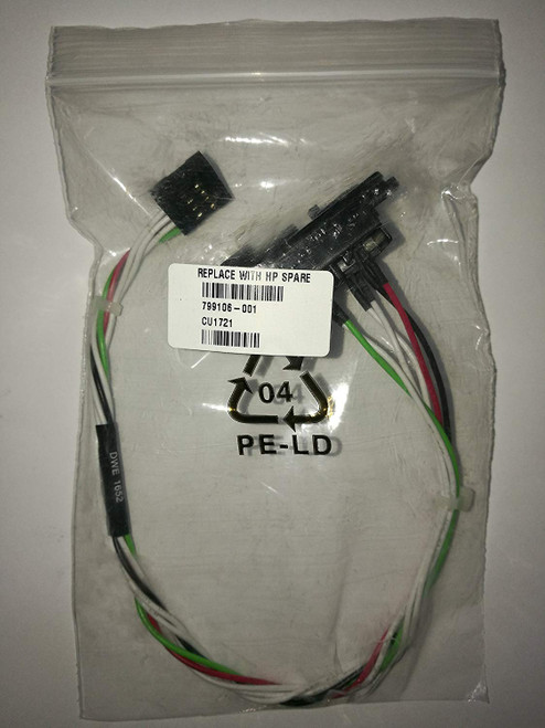 HP ASSY, PWR SWITCH AND CABLE, ENTL15 MT - 799106-001