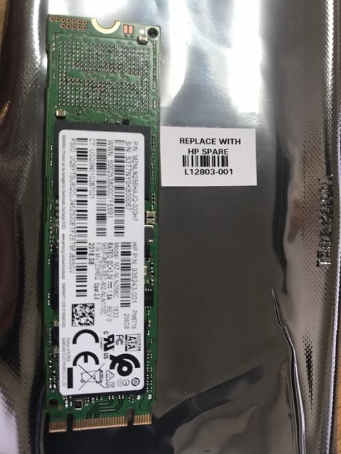 HP Solid-state drive 256GB M2 SATA-3 SED OPAL2 TLC  - L12803-001