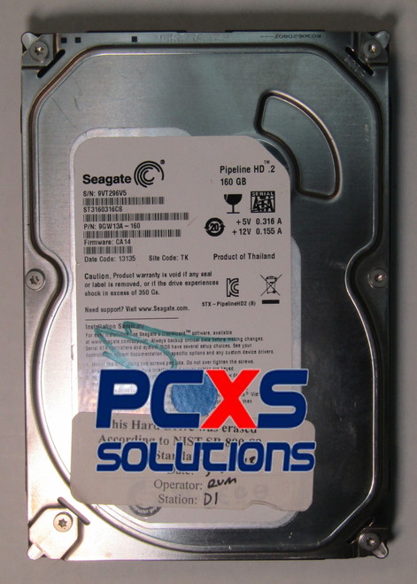 Seagate 160GB 5900RPM SATA Desktop Hard Drive - 9GW13A-160