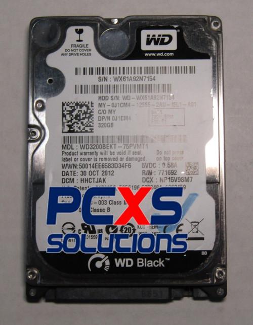 WD3200BEKT-75PVMT1, DCM HHOTJHK, Western Digital 320GB SATA 2.5 Hard Drive - WD3200BEKT-75PVMT1