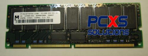 256MB PC-133 DDR Memory Module JY  - MT18LSDT3272G