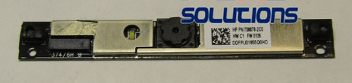 Webcam and microphone module - 739570-001