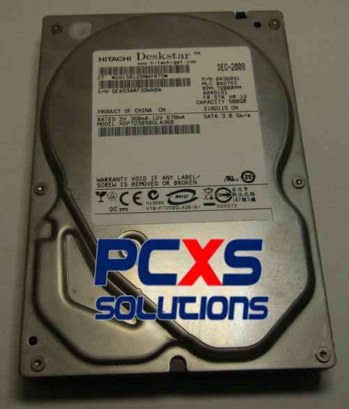 "Hitachi 0A36891 - 500GB 7.2K RPM SATA 3.5"" Hard Drive - 0A36891"