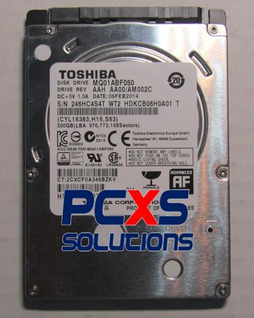 500GB SATA hard disk drive - 5,400 RPM, 2.5-inch form factor - Raw drive - 697243-001