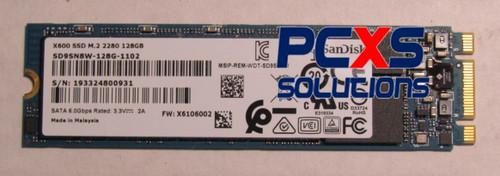 Sandisk  - 128GB M.2 2280 SATA III NGFF SSD - SD9SN8W-128G-1102