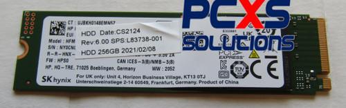SPS-SSD 256GB 2280 PCIe NVMe Value - L83738-001