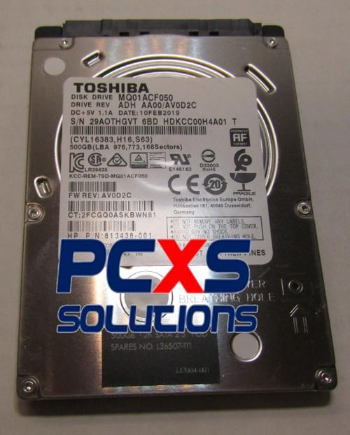 """500 GB HDD,  SATA-600 2.5"""" - L36507-111"""