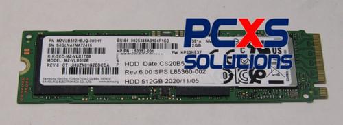 SSD 512GB M2 2280 PCIe 3x4 TLC SS - HP 840 G7 - L85360-002