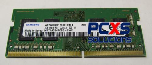 Samsung 1x 4GB DDR4-3200 SODIMM PC4-25600S Single Rank x16 Module - M471A5244CB0-CWE