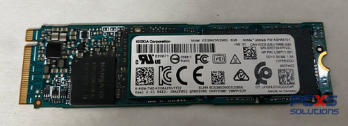 HP Solid State Hard Drive SSD 256G M2 2280 PCIe3x4NVMe TLC SED - L38711-001