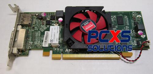 4K Support Radeon AMD D33A27 C48KP R5 240 PCIe DVI 1GB DisplayPort Video Card - D33A27 0C48KP