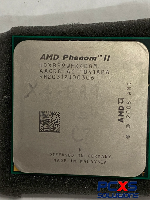 SPS-PROC Phenom II X4 B99 3.4GHz 95W - 647012-001