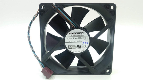 HP Cooling fan assembly (non-recycled) - For HP EliteDesk Microtower (MT) PC - 780335-001