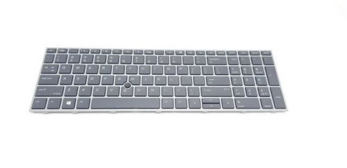 HP Keyboard TP+PS BL US X360 440 G1/ZBOOK 17 - L28407-001