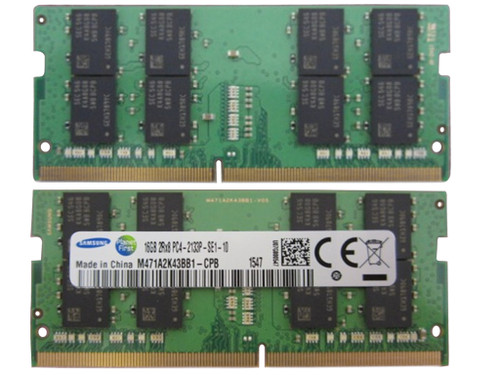 HP 16GB, 2133MHz, 1.2v, DDR4 dual in-line memory module (SHARED) HP 650 G2 , HP Elitebook  840 G3 , HP 850 g3 - 820571-001