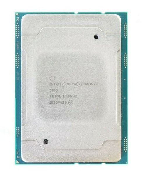 Intel Xeon Bronze 3106 Processor 8 Core 1.7 GHz 85W - CPU - SR3GL