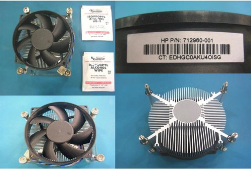 HP Processor fan/heat sink assembly - For HP EliteDesk Microtower (MT) PC 727142-001 - 712960-001