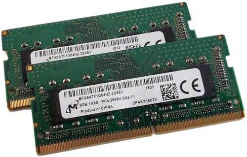 MICRON - 8GB SODIMM DDR4 2666 - MTA8ATF1G64HZ-2G6E1