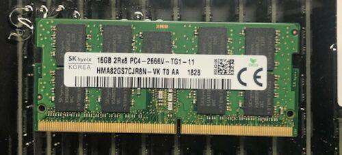 Hynix 16GB PC4-21300 DDR4-2666MHz ECC Unbuffered CL19 260-Pin SoDimm 1.2V Dual Rank Memory Module - HMA82GS7CJR8N-VK