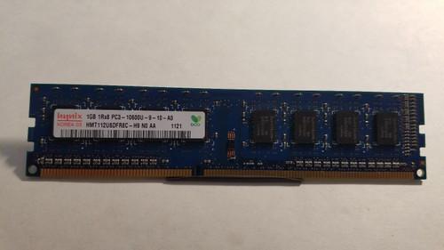 Hynix 1 GB DIMM 1333 MHz DDR3 Memory - HMT112U6DFR8C-H9