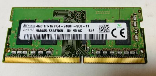 HYNIX 4GB PC4-19200 DDR4-2400MHZ NON-ECC UNBUFFERED - HMA851S6AFR6N