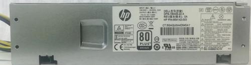 HP 180W power supply unit (PSU) - SFF ES Bronze Elbling PRODESK 400 G4 SFF - 900702-001