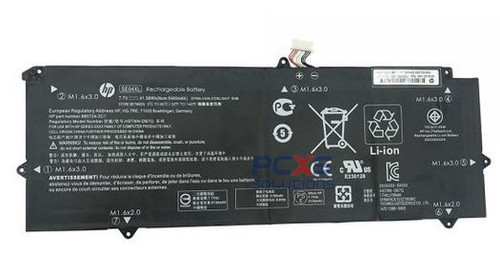 HP Battery (Primary) - 4-cell lithium-ion (Li-Ion), 2.7Ah, 41Wh (SE04041XL-PL) - 860708-855