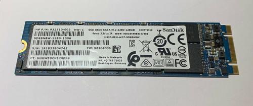 HP Hard Drive - 128GB M.2 2280 SATA X600 SS - 932310-002
