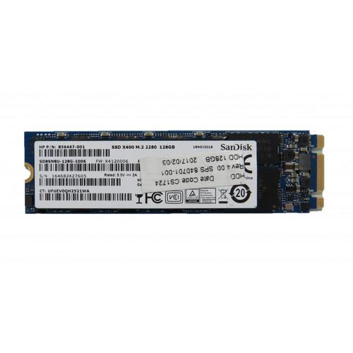 HP SSD - 128GB, M.2, 2280, SATA, X400, SAND - 856447-001