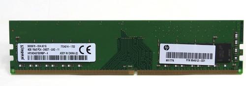 HP 4GB, PC4-17000, CL=15, DDR4, Dual In-Line Memory Module (DIMM) - 854912-001